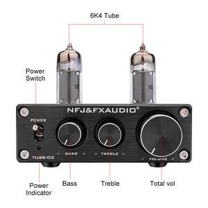 Image 3 - FX Audio TUBE 03 MINI Bile Preamp Tube Amplifier Buffer HIFI Audio Preamplifier With Treble Bass Adjustment Pre amps
