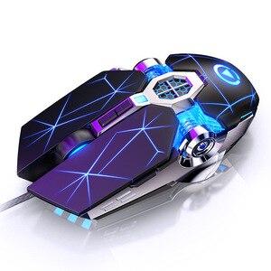 Image 5 - Teclado de computador, teclado de jogo, mouse, sensação mecânica, rgb, led, retroiluminado para jogos, pc, laptop