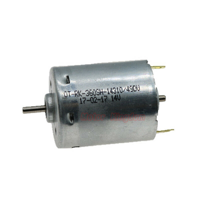 OT-RK-360SH-14310 DC 6V 12V 24V 10000RPM High Speed Engine Micro Round 27mm Electric Motor DIY RC Toy Car Boat Hobby model