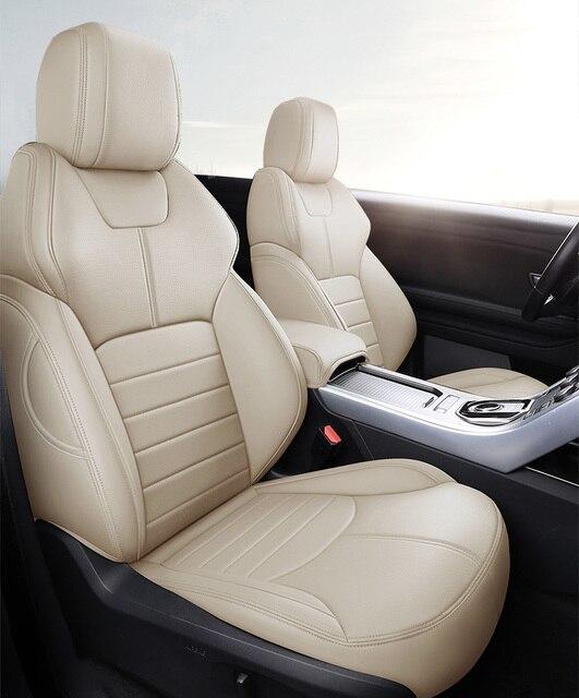 Personnalisé vachette housse de siège de voiture pour VOLVO XC70 S60 S80 XC60 V40 V60 C30 C70 XC90 XC40 S40 S90 XC-CLASSIC voiture accessoires coiffure