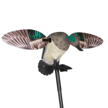 Vivid Motion  Decoy Hunting Spinning Wing Mallard Drake Female Duck Garden Pond Decor Teal Toy with Remote 1