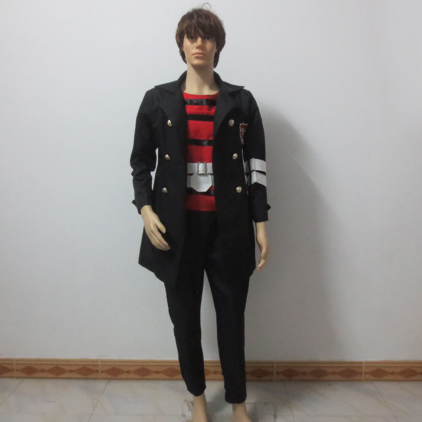 Katekyo Hitman Reborn Belphegor Cos Christmas Party Halloween Uniform Outfit Cosplay Costume Customize Any Size