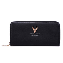 2019 Amarte New Fashion PU Wallet Solid Color Money Clips High Quality Women Purse Multicolor Optional Simple Wild Women Purse