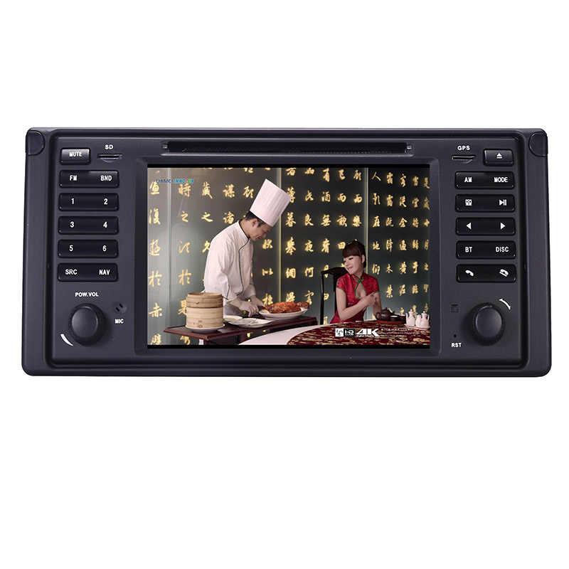 """Android 10.0 4 Nhân Dẫn Đường GPS 7 """"DVD Xe Hơi cho XE BMW E39 5 Series/M5 1997-2003 Wifi 3G Bluetooth ĐẦU GHI HÌNH RDS USB Xi Nhan CANBUS"""