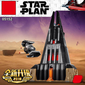 05152 Star The Darth Vader Castle Set Wars With Starwars Building Blocks Brick Assembled Christmas Gifts Toy
