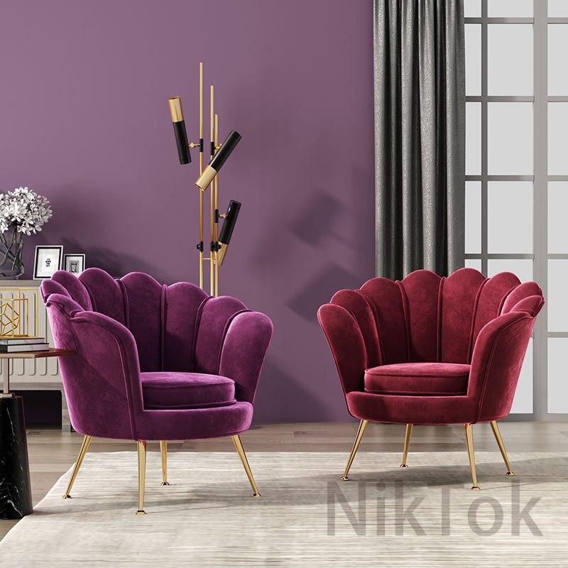 Nordic Luxury Livingroom Chairs, Single Living Room Chairs