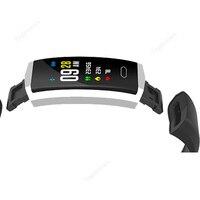 Alta calidad GPS Bluetooth banda inteligente pantalla de Color IPS ritmo cardíaco presión arterial Seguimiento de actividad Monitor de sueño reloj inteligente