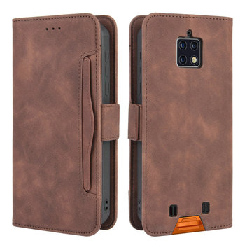Leather Wallet Card Slot Removable for Oukitel WP6 Flip Case 360 Protect Phone Cover for Oukitel W P 6 WP 6 W P6 Case Shockproof