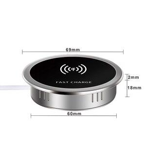 Image 5 - Đa Năng Tề Đế Sạc Không Dây 15W 7.5W Hoặc 5W Dock Nhúng Nước Tề Không Dây Cảm Ứng Sạc Transmitte Cho iPhone Samsung