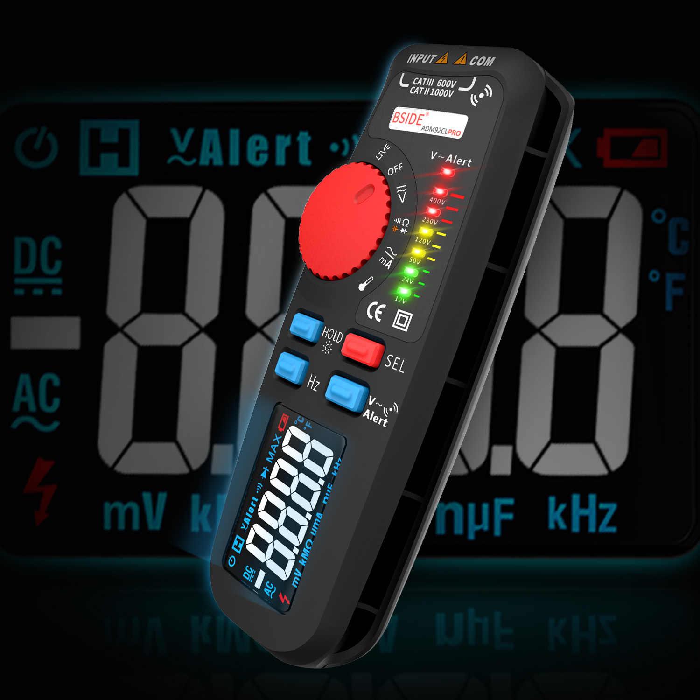 デュアルモードマルチメータ電圧計 bside 92CL-PRO 色表示式デジタル multimetro 電圧インジケータ voltimetro バッテリーテスターツール