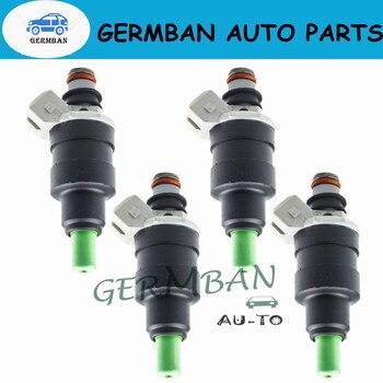 4 unids/set de piezas de alta calidad inyector de combustible boquilla 23250-45011 2325045011 para TOYOTA 2,4 Pickup 4Runner Celica accesorios de coche