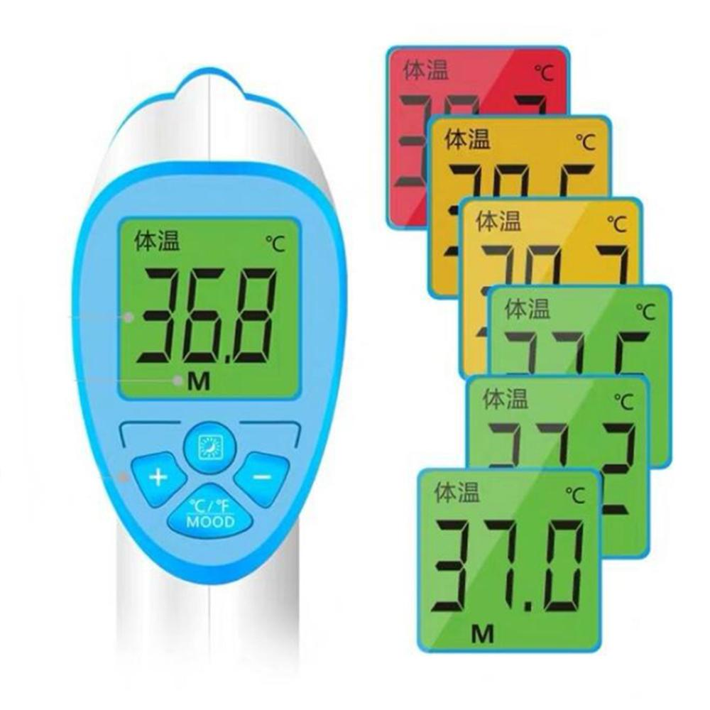Image 2 - Electric Forehead Thermometer One Second No Touch Non Contact Body Fever Thermometer Digital IR Infrared Forehead Thermometer    -