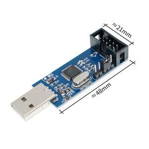Image 1 - 10 قطعة جديد USBASP USBISP AVR مبرمج USB ISP USB ASP ATMEGA8 ATMEGA128 دعم Win7 64K