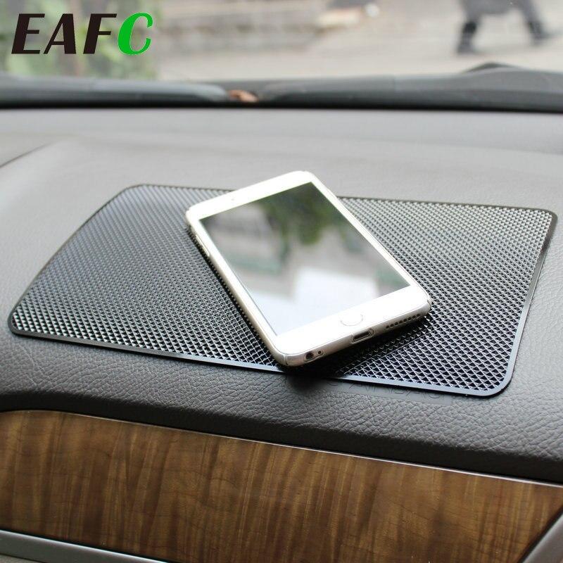 1 pièces voiture tableau de bord collant anti-dérapant PVC tapis antidérapant tapis collant pour téléphone porte-lunettes de soleil voiture style intérieur accessoires