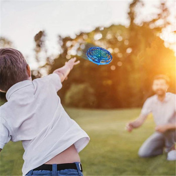 KaKBeir Rc Quadcopter Flying Helicopter Magic Hand UFO Ball Aircraft Sensing Mini Induction Drone Kids Electric Electronic Toy 2