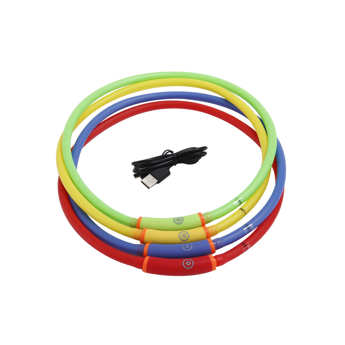 Waterproof LED Shining Dog Neck Ring Pet Collar New Style Pet Supplies Luminous Collar