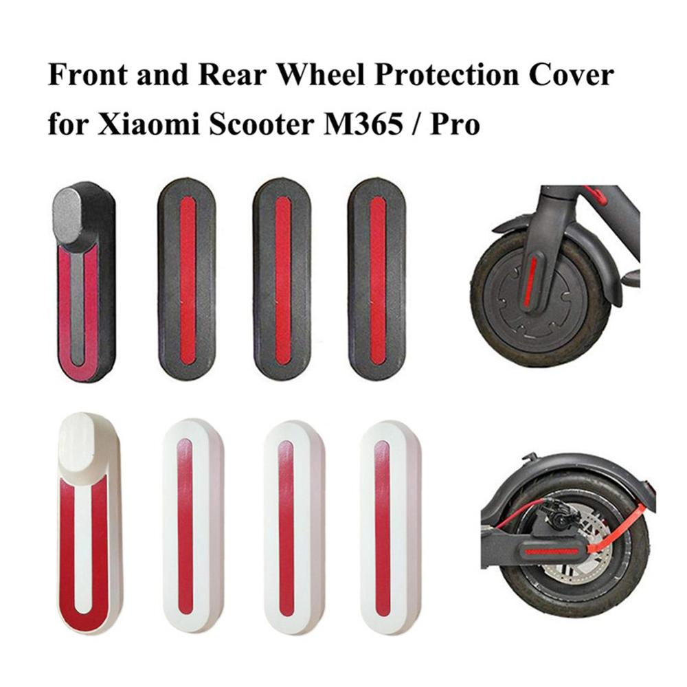 For Millet Mi M365/Pro Electric Scooter Custom Parts Front And Rear Wheel Frame Protection Cover Reflective Sticker