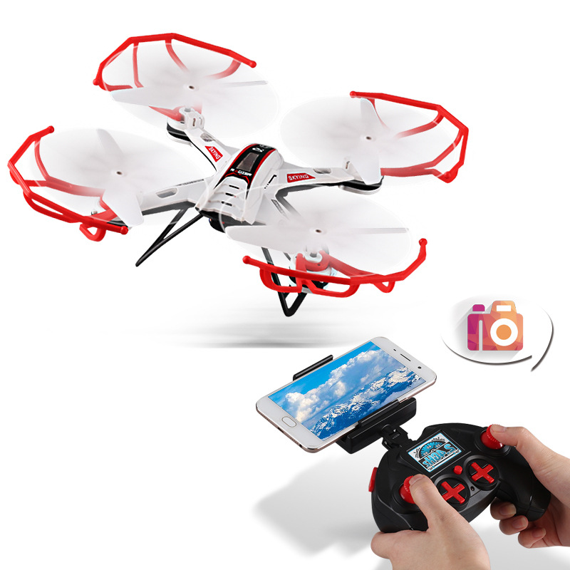 HY709-X6 Quadcopter Drone Unmanned Aerial Vehicle Aerial Photography Webcam WiFi Real-Time Transmission Wholesale Direct Selling