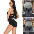 2021 новая бесшовная женская корректирующая одежда с высокой талией и кружевом, дышащая корректирующая одежда для живота и живота