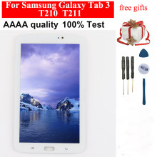 For Samsung Galaxy Tab 3 7.0 SM- T210 T211 LCD Touch Screen Digitizer Panel T210 LCD Display Panel Monitor Assembly Replacement(China)