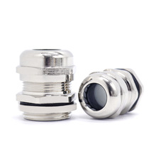 Waterproof Cable Gland IP68 Nickel Plated Brass 1/4