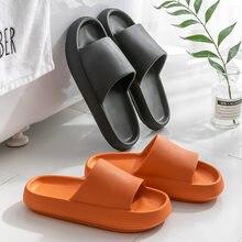 2021 verão novo estilo de fundo grosso moda casual flat bottom antiderrapante confortável sandálias e chinelos casal chinelos
