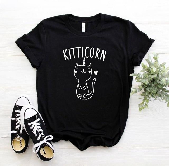 unicorn cat tshirt