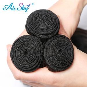 Image 5 - Alisky Haar Body Wave Bundels Peruaanse Haar Weave Bundels 100% Human Hair Bundels 8 30Inch 1/3/4 bundels Remy Hair Extensions