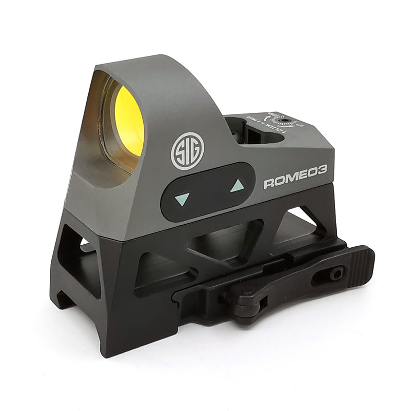 Tactical Mini Reflex Sight 1x25  3 MOA Dot Reticle Red Dot Sight Scope Picatinny QD Mount For Rifles Carbines Scope