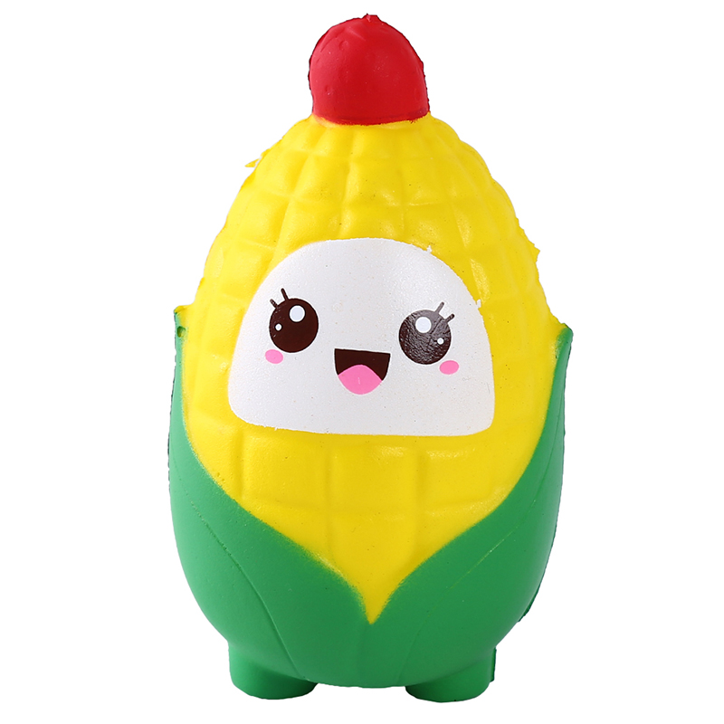 Squish Corn Vent Toy Baby Slow Rebound Decompression Children's Funny Toys For Children Squishy Gift