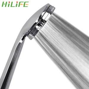 Nozzle Shower-Head Pressurized Rainfall Water-Saving Chrome Spray Bath HILIFE 1pc High-Quality
