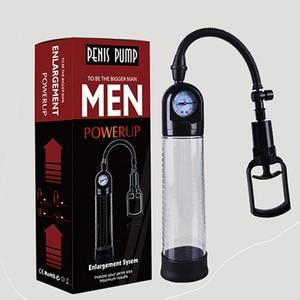 Image 4 - Bomba peniana de pene macho, bomba de pene para agrandar el pene, extensor de pene, dispositivo de bomba de vacío, consolador, masturbador, Juguetes sexuales para adultos para hombres