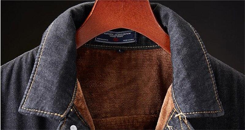 H862e6e3abf93497f93614454799c7ba69 MORUANCLE Men's Winter Warm Jean Jackets And Coats Fleece Lined Thicken Thermal Denim Trucker Jacket Outerwear Plus Size M-5XL