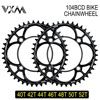 VXM MTB Bike Cranket Chainring 104BCD Road Bicycle Chain Wheel 40T/42T/44T/46T/48T/50T/52T CNC Anodizing Chain Toothed Gear