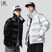 Collar Jackets Coat Duck-Down 90%Down-Coat Winter Casual New Warm Thicken Outwear Men
