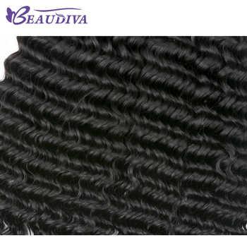 Luxediva 髪 Bralizian ディープ波バンドル 4 バンドル購入することができ 100% レミー人間の毛延長 Bralizian 髪バンドル
