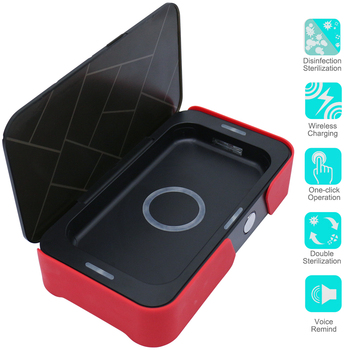 UV Phone Sanitizer UV Sterilizer Box Ultraviolet Sterilizer UV Phone Sterilizer Portable Desinfection UV Sanitizer Box