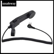 Army radio Microphone Military Handheld Speaker Mic for Motorola CP200 EP450 CLS1410 CP040 GP300  walkie talkie