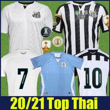 new Santos FC 2020 2021 Camisa Camisa 2 High quality soccers jerseys man T-shirt tees customize Santos Clube Soteldo Kaio Jorge