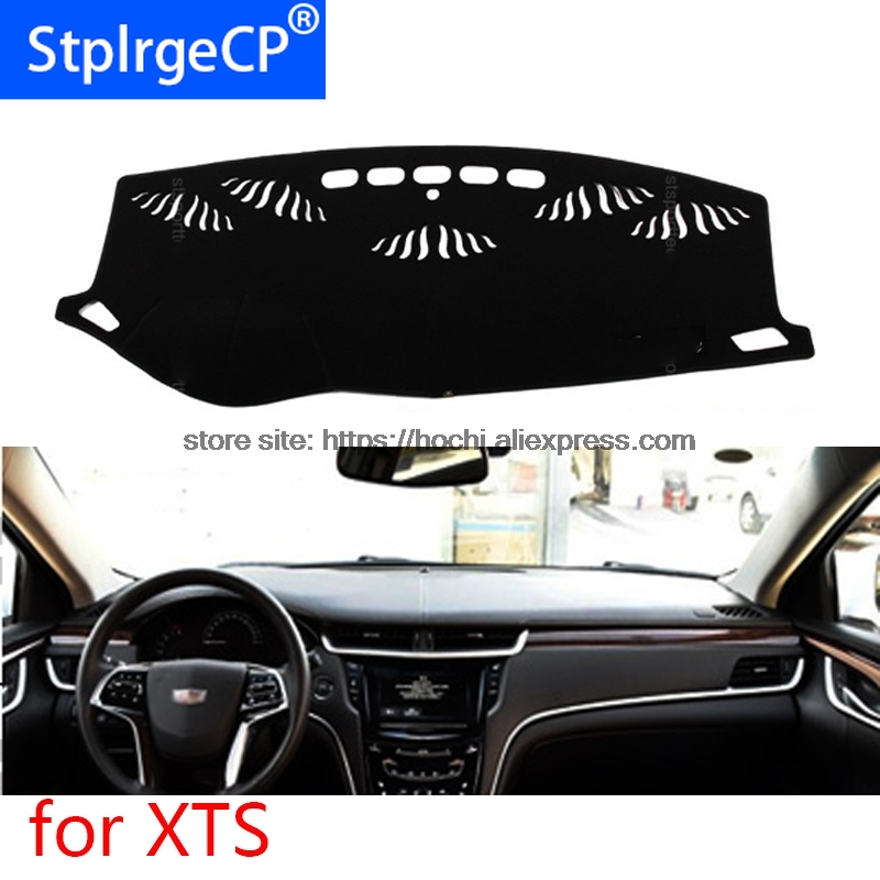 dashboard mat Protective pad Shade Cushion Photophobism Pad car styling accessories for cadillac XTS|Car Stickers| |  - title=