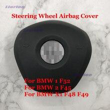 Auto Lenkrad Horn Abdeckung Für BMW 1/2/X1 Serie F52/F45/F48/F49 auto Zubehör Lenkrad Panel Platte Shell Abdeckung