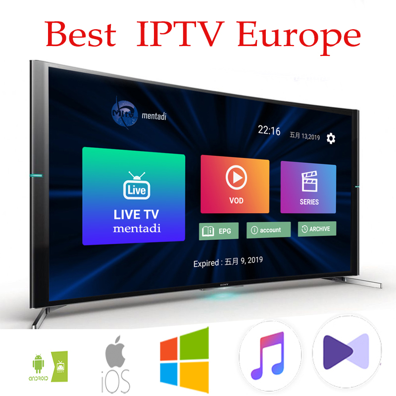 IPTV subscription FULL HD Sports IPTV Europe french italain polish UK Germany Arabic iptv code sports adults channel-in Set-top Boxes from Consumer Electronics