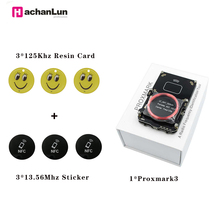 Newest Version Proxmark3 IC/ID Smart Card Writer RFID Tag Copier Reader USB NFC Duplicator Changeable Card Mfoc Card Clone Crack