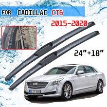 Cadillac için CT6 2015 2016 2017 2018 2019 2020 aksesuarları araba ön cam silecek lastikleri fırçalar kesici U tipi J kanca
