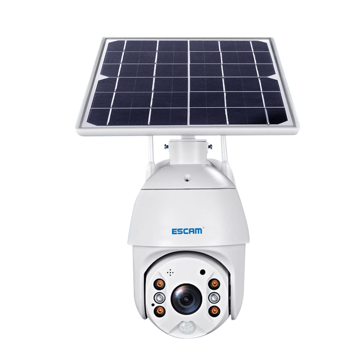 cheapest Solar Panel Solar Siren SJ1 for G19 G18 W18 8218G W1 GSM Alarm System Security with Flashing Response Sound Waterproof Outdoor