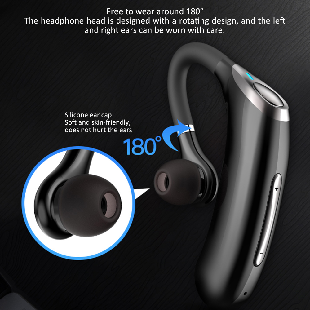 lowest price New Business Wireless Bluetooth Earphone M50 Headset IPX7 Waterproof Earbuds Noise Reduction Music Earpiese With Mic For Driver