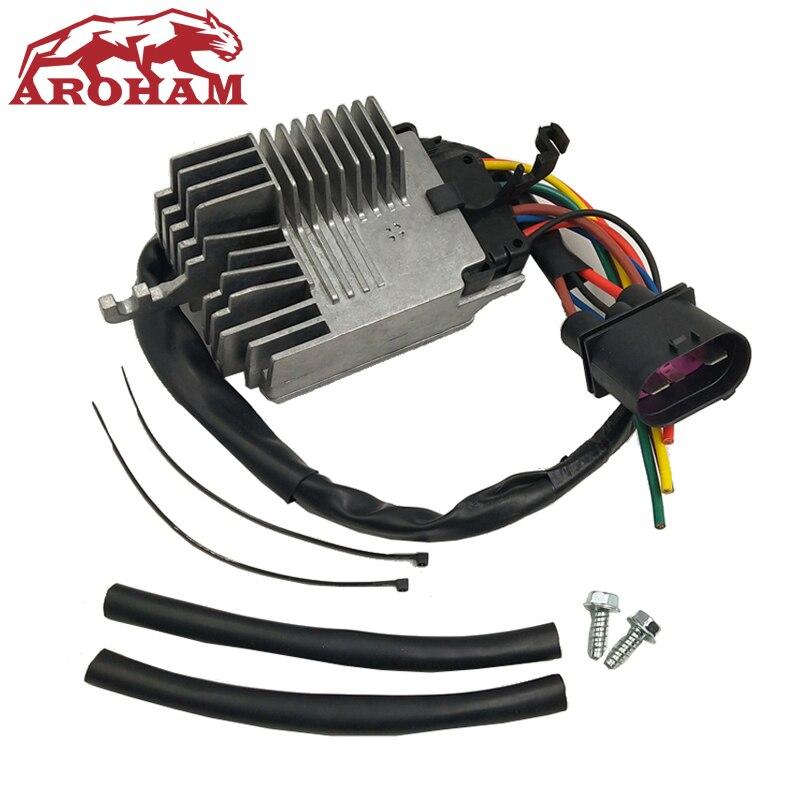 8E0959501AG RADIATOR FAN CONTROL UNIT MODULE Compatible For AUDI A4 A4 CABRIO 8E0959501G 8E0959501K 8E0959501AB