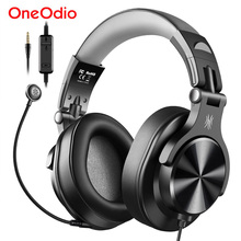 Oneodio Wired Gaming Headset Gamer 3 5mm Over-Ear Stereo Gaming Headphones With Detachable Microphone For PC Computer PS4 Phone cheap Over the Ear Dynamic CN(Origin) 110±3dBdB None For Mobile Phone For Internet Bar for Video Game Monitor Headphone HiFi Headphone