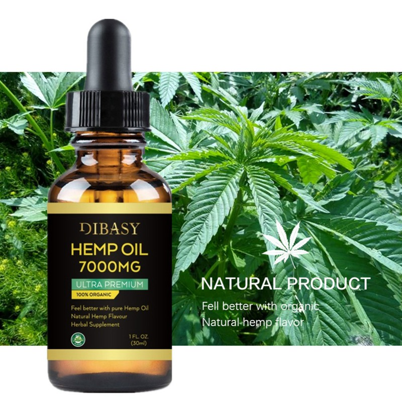 7000MG Hemp Seed Oil, Sleep Aid Anti Stress Hemp Extract Drops for Pain, Anxiety & Stress Relief Skin Care image