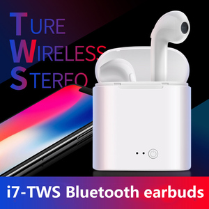 Image 4 - I7 Bluetooth 4.2 earbuds TWS wireless Earpieces mini Bluetooth earphones sports stereo Handsfree inearphones with charging box